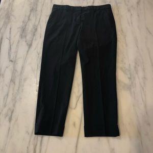 ELIE TAHARI Black Dress Pants Crop Sz 6 - EUC